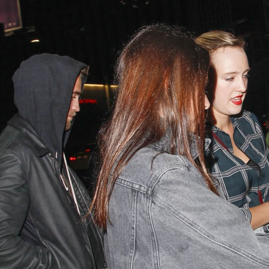 Robert Pattinson at an Arctic Monkeys Concert | Pictures