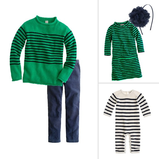 The Family That Stripes Together: Crewcuts