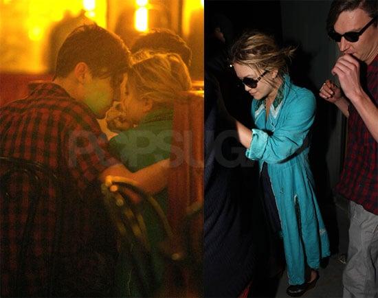 Photos of Mary-Kate Olsen Kissing Boyfriend Nate Lowman in Miami
