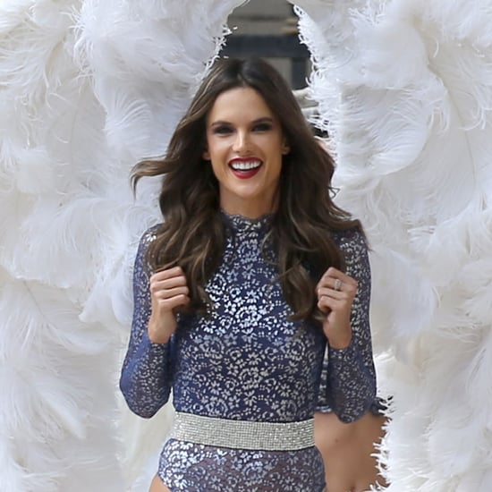 Alessandra Ambrosio at Victoria's Secret Holiday Shoot 2016