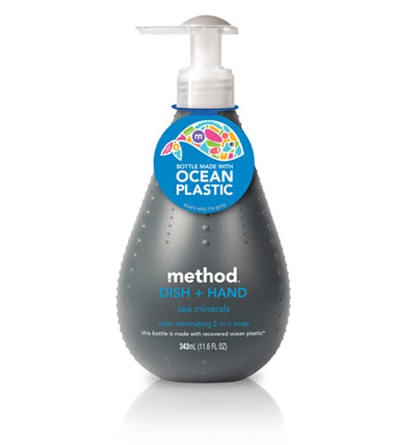 Method Soap With Recovered Ocean Plastic Packaging