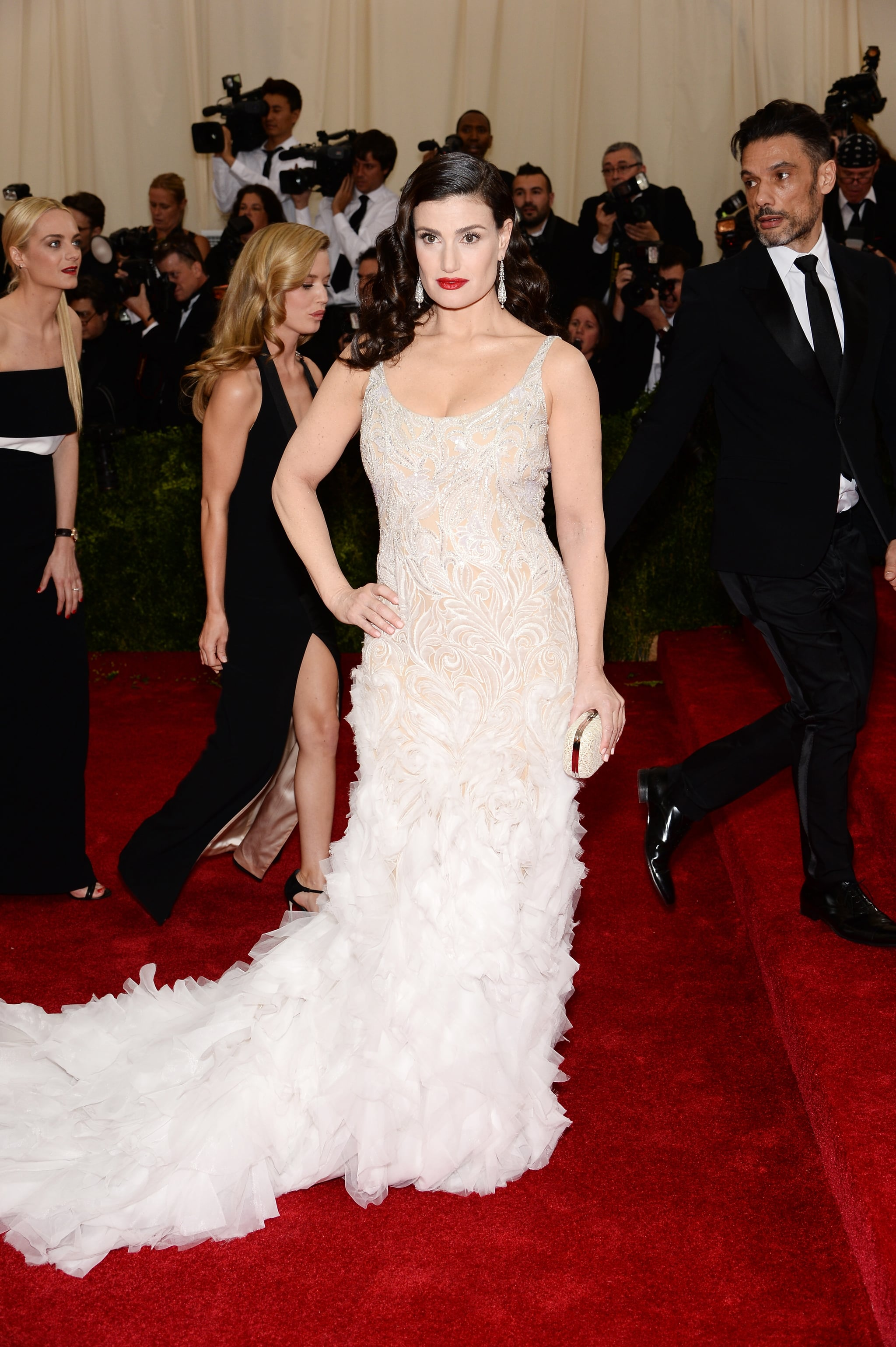 Idina Menzel at the 2014 Met Gala