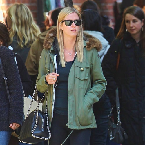 Celebs in Army Jackets and Anoraks