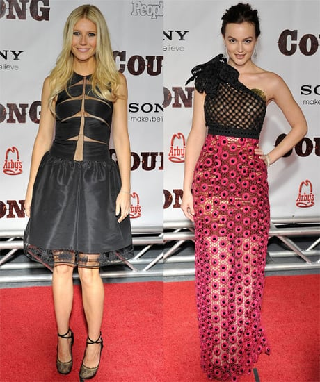 Gwyneth Paltrow, Leighton Meester, Tim McGraw, Faith Hill at Country Strong Premiere in Nashville