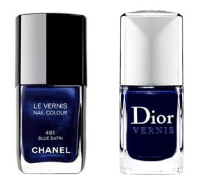 Chanel Vs Dior: Battle of the Blue Polishes
