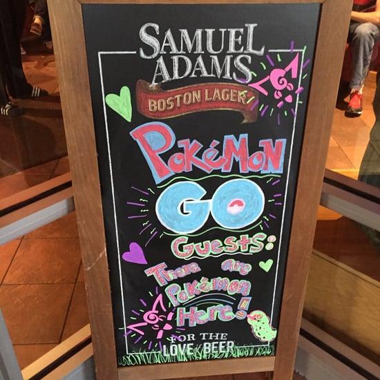 Pokemon Go at Restaurants