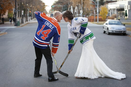 Score Cool Wedding Style With Hockey-Inspired Details