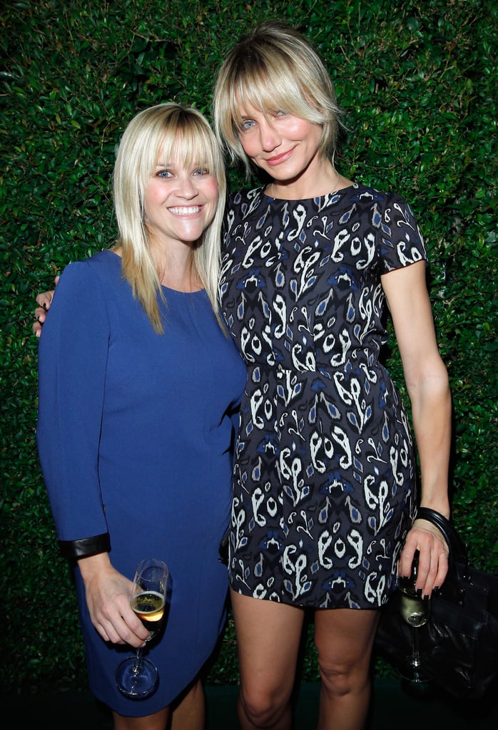 Reese and Cameron Diaz met up at Rag & Bone's new LA store opening in October 2012.
