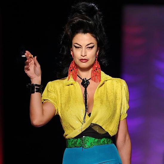 Jean Paul Gaultier Speaks About Amy Winehouse Homage
