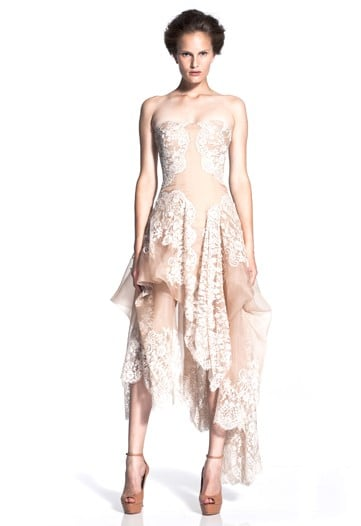 A Look at Sarah Burton's First Alexander McQueen Women's Collection, for Cruise 2011