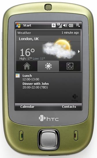HTC's New 'Touch' Friendly Cell Phone
