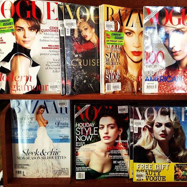 Eeny, meeny, miny, moe — choosing which mag to read can be an hour-long task.