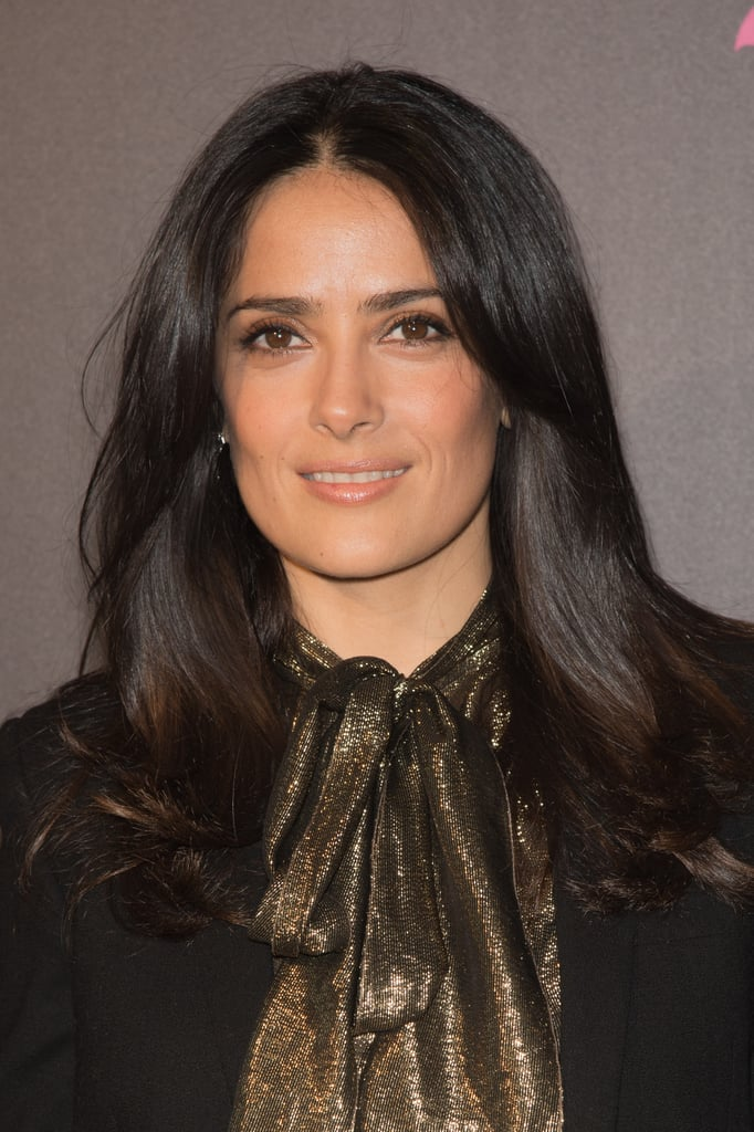 """You want to talk about bad skin? I had acne,"" Salma Hayek told Lucky. ""And this acne was so bad it sent me into severe, severe depression. Like I couldn't leave the house. The next stage with that sort of depression is food — too little or too much . . . I was fat and broken out. I couldn't leave the house and I couldn't pay the rent!"""
