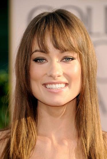Olivia Wilde's Golden Globes Makeup Look