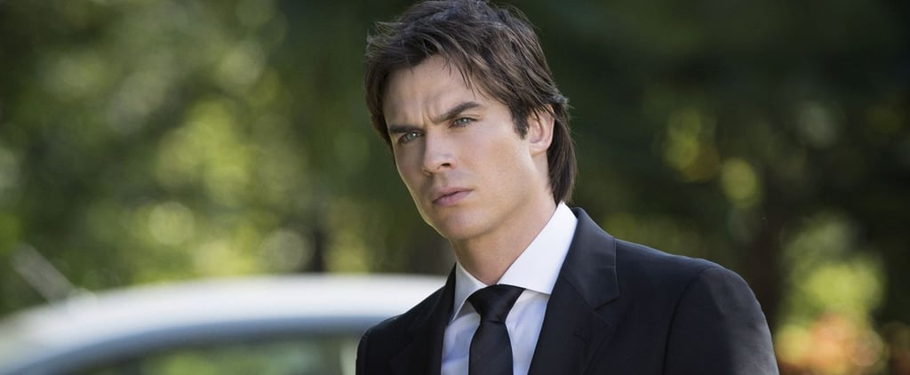 The Truth Behind Damon's Smolder on The Vampire Diaries Is Actually Hilarious