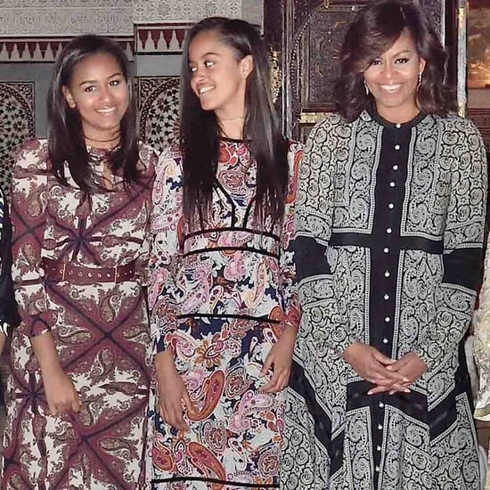 Michelle Obama Altuzarra Dress in Marrakesh June 2016