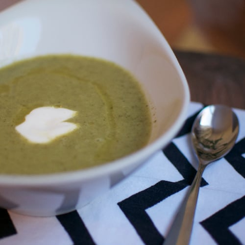 White House Broccoli Soup Recipe