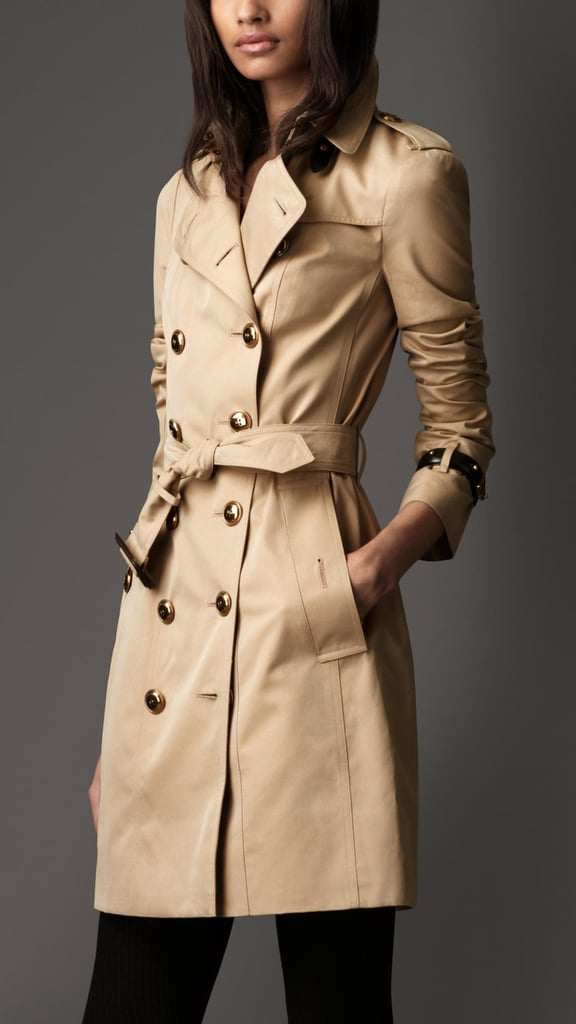 No one will ever regret having an iconic Burberry trench ($1,895) in her coat closet. Expect to see it out and about for the next few decades.