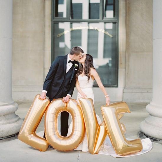 Wedding Photos With Balloons