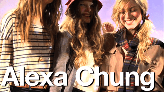 Alexa Chung for Madewell New York Fall Fashion Week Collection What's Fab First Look