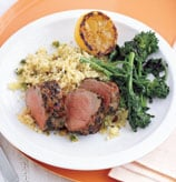 Sunday BBQ: Grilled Pork and Pistachio Couscous