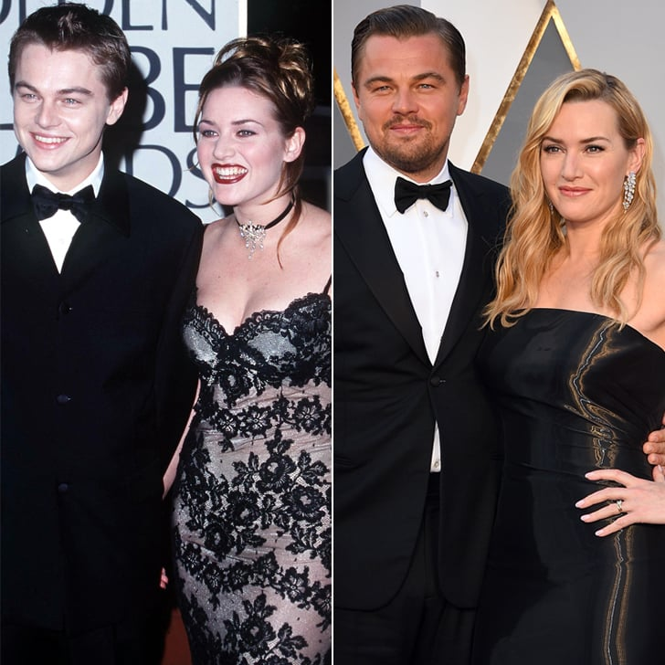 Kate Winslet and Leonardo DiCaprio // As it happened, she bumped into ...