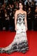 Lana Del Rey showed off a black-and-white strapless gown at the Cannes premiere of The Great Gatsby.