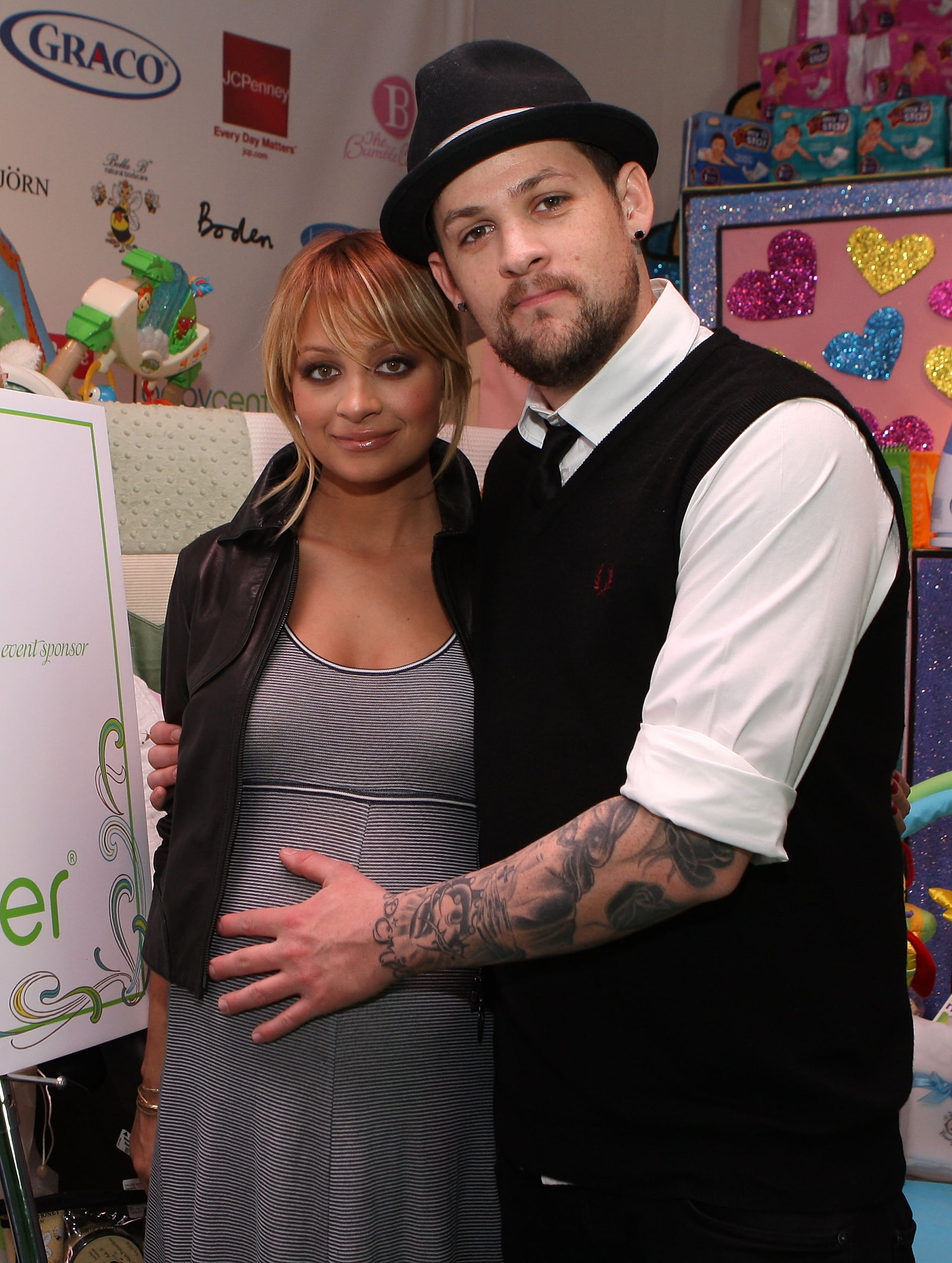 In December 2007, Nicole showed off her growing baby bump while launching The Richie Madden Children's Foundation with Joel Madden, who was then just her boyfriend.