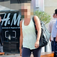Picture of Celebrity Going to Equinox Gym