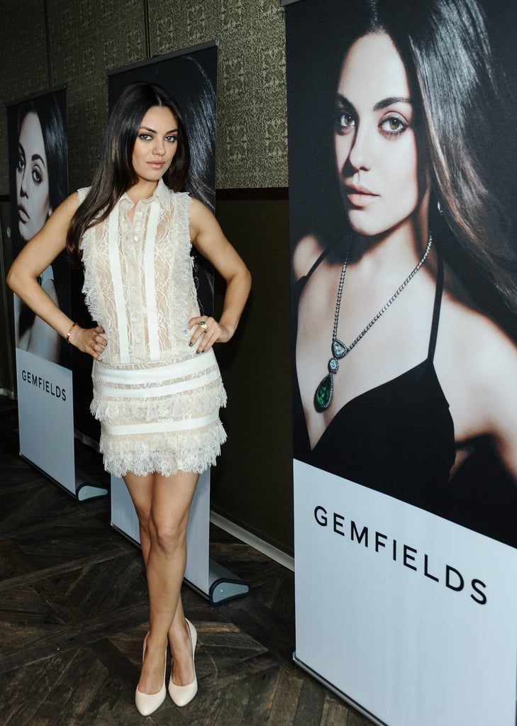 Mila Kunis struck a pose in LA.