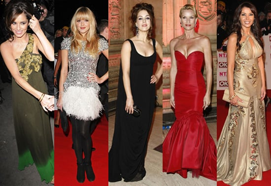 2008 National Television Awards, Red Carpet, Celebrity Style, Best Dressed