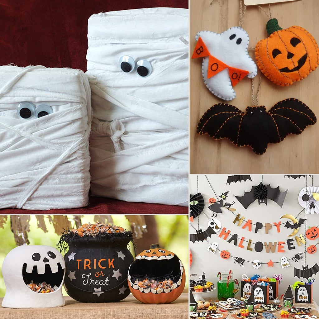 Halloween Decorations Home: Cute Kid-Friendly Halloween Decorations