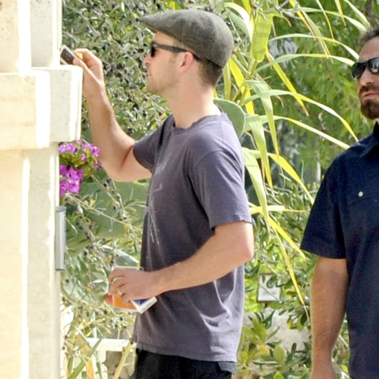 Justin Timberlake Debuts His Wedding Ring | Pictures