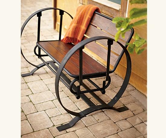 Summer Style: Wagon Wheel Glider