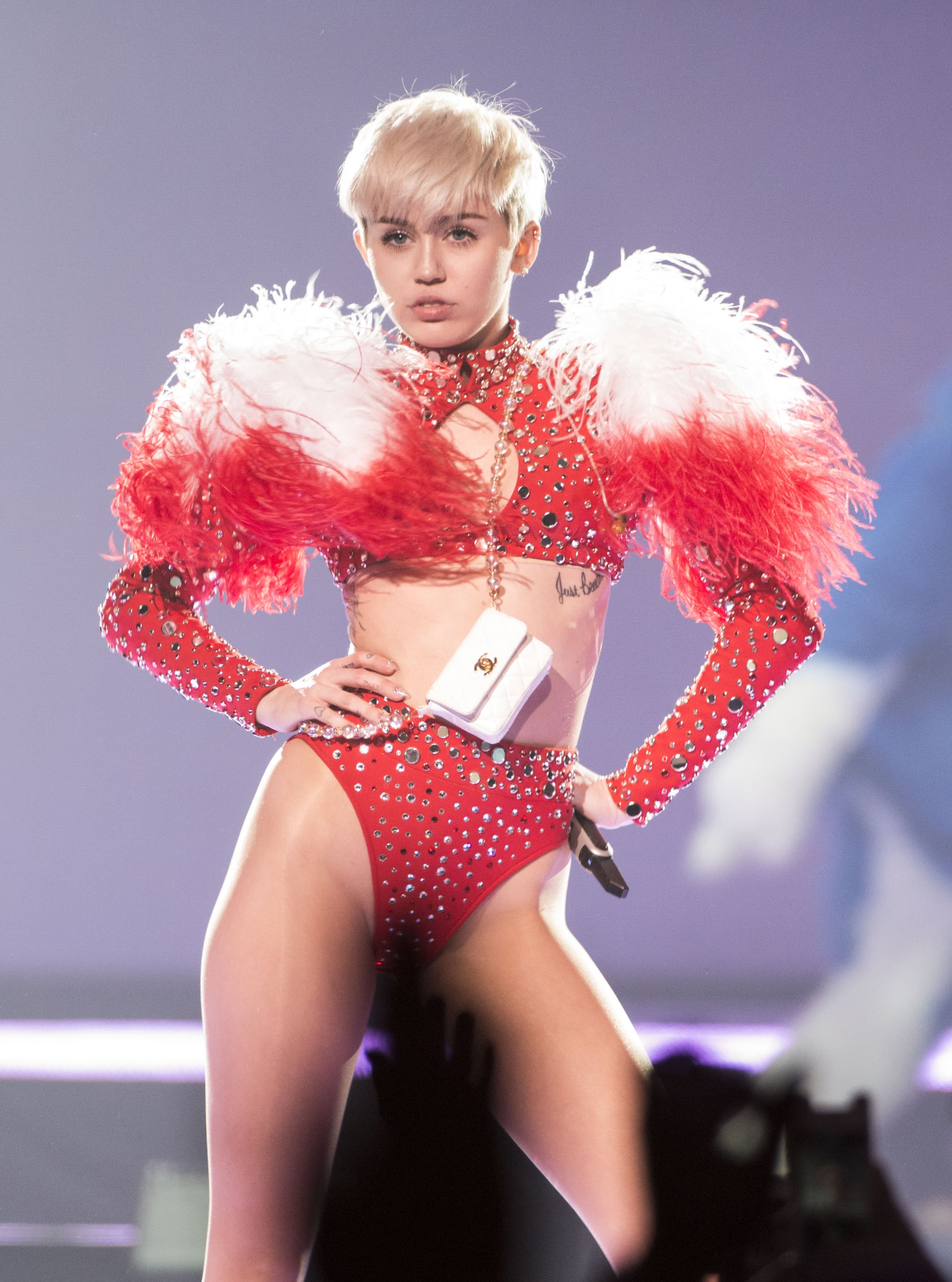 Miley's New Tour Makes the VMAs Look G-Rated