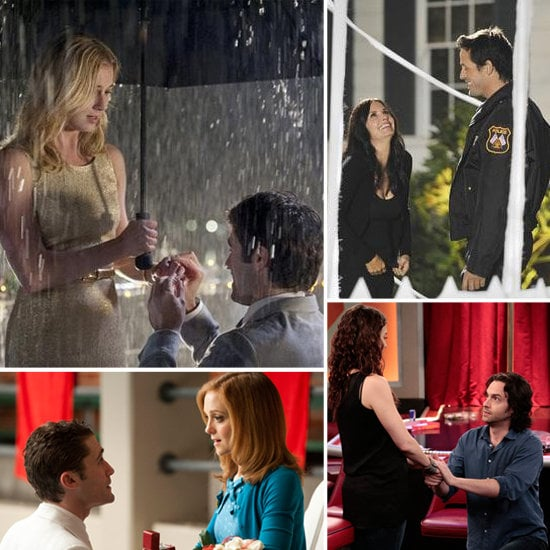 From the ultraromantic to the nontraditional, Buzz rounded up some sweet marriage proposals from the last year in TV.