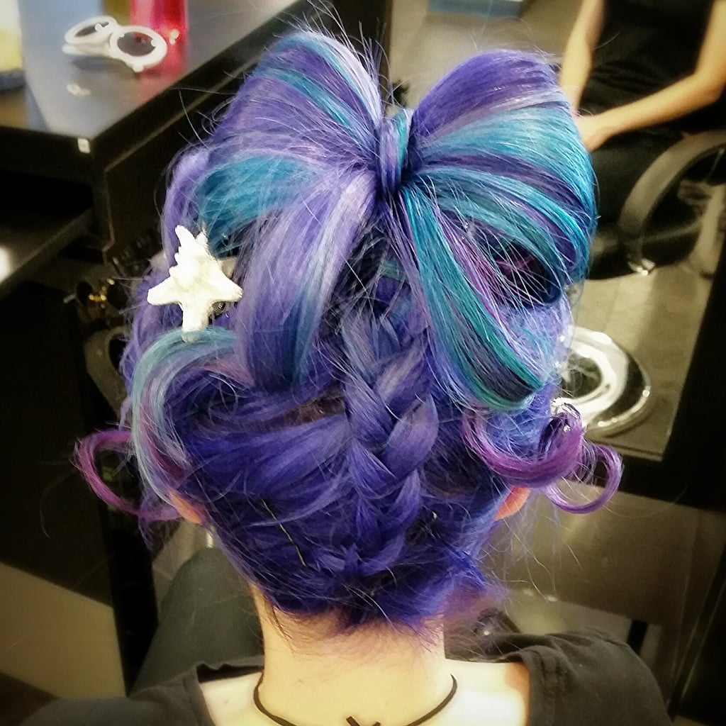 Anime-esque Hair Art