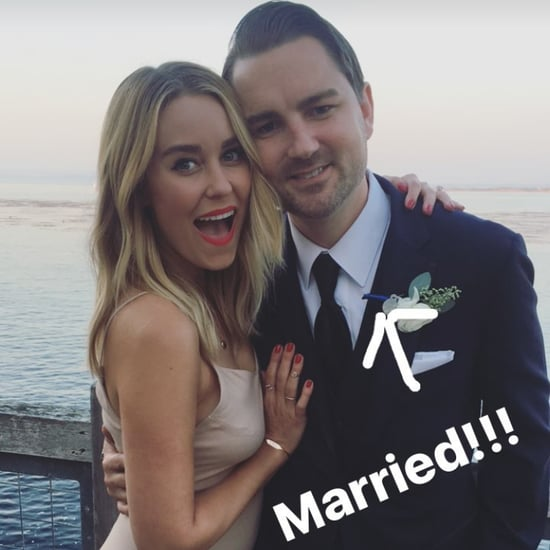 Lauren Conrad's Beige Dress at Dieter Schmitz's Wedding