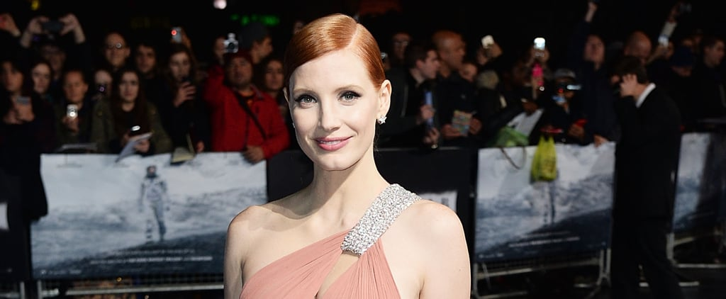 Jessica Chastain's Smudgy Liner Is Perfect For Lazy Girls