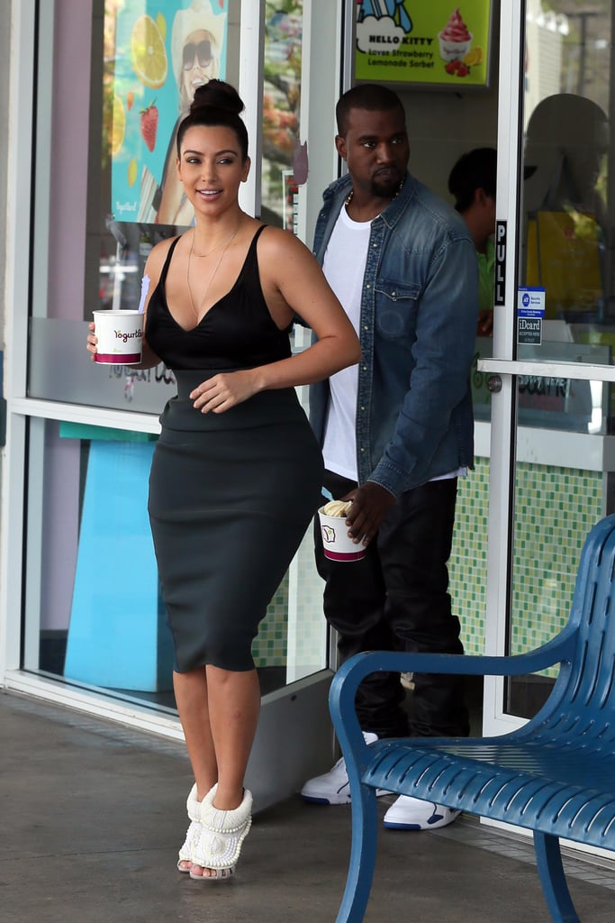 Kim and Kanye Keep The Love Alive — Over Frozen Yoghurt