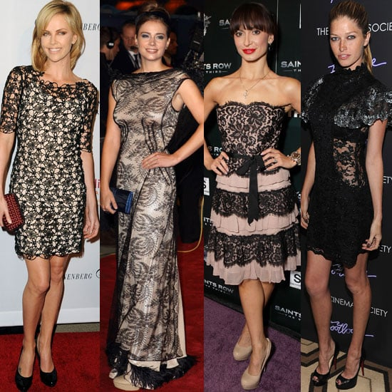Trend Alert: Graceful Lace Dresses