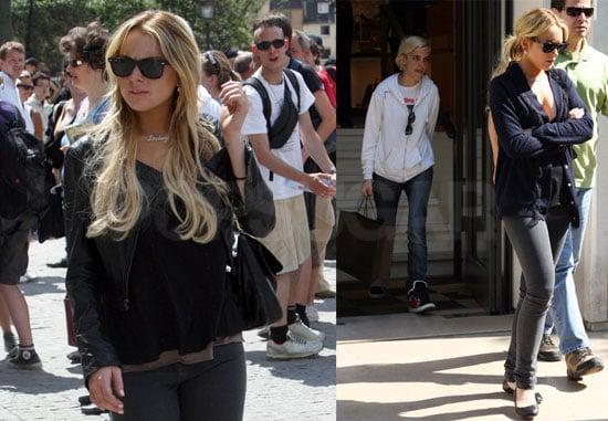 Lindsay Lohan Cried Over Samantha Ronson