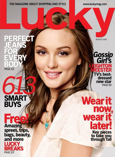 Win Leighton Meester's Lucky Cover Look!