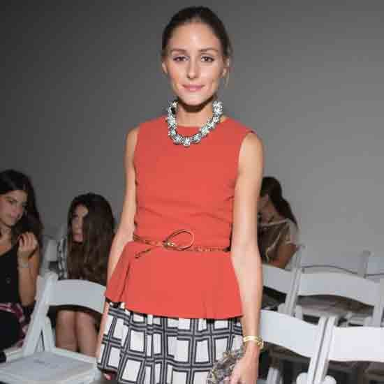 Olivia Palermo at Tibi Spring 2013 Show (Pictures)