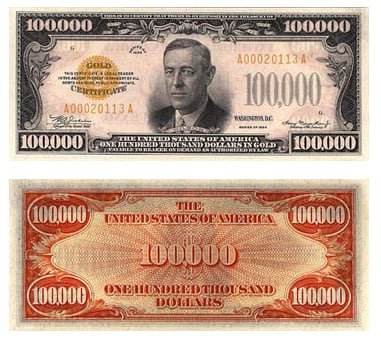 What Is the Largest Currency Bill