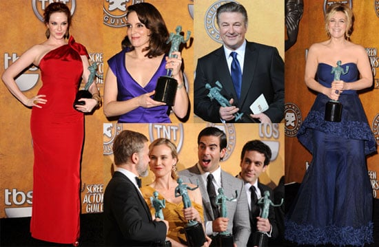 Photos From the 2010 SAG Awards Press Room 2010-01-25 07:45:00