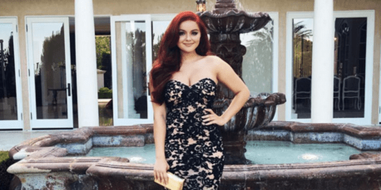 Ariel Winter Slayed Prom With This Disney Princess Moment