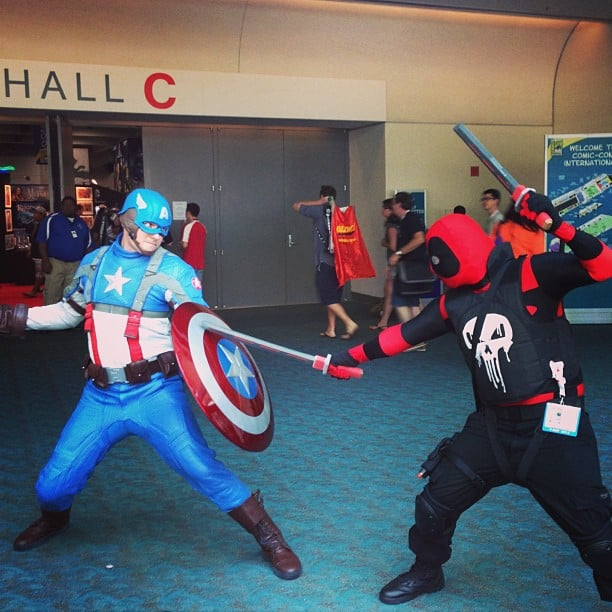 The Punisher daringly challenges Captain America to a duel. Who prevails? Hero or antihero?