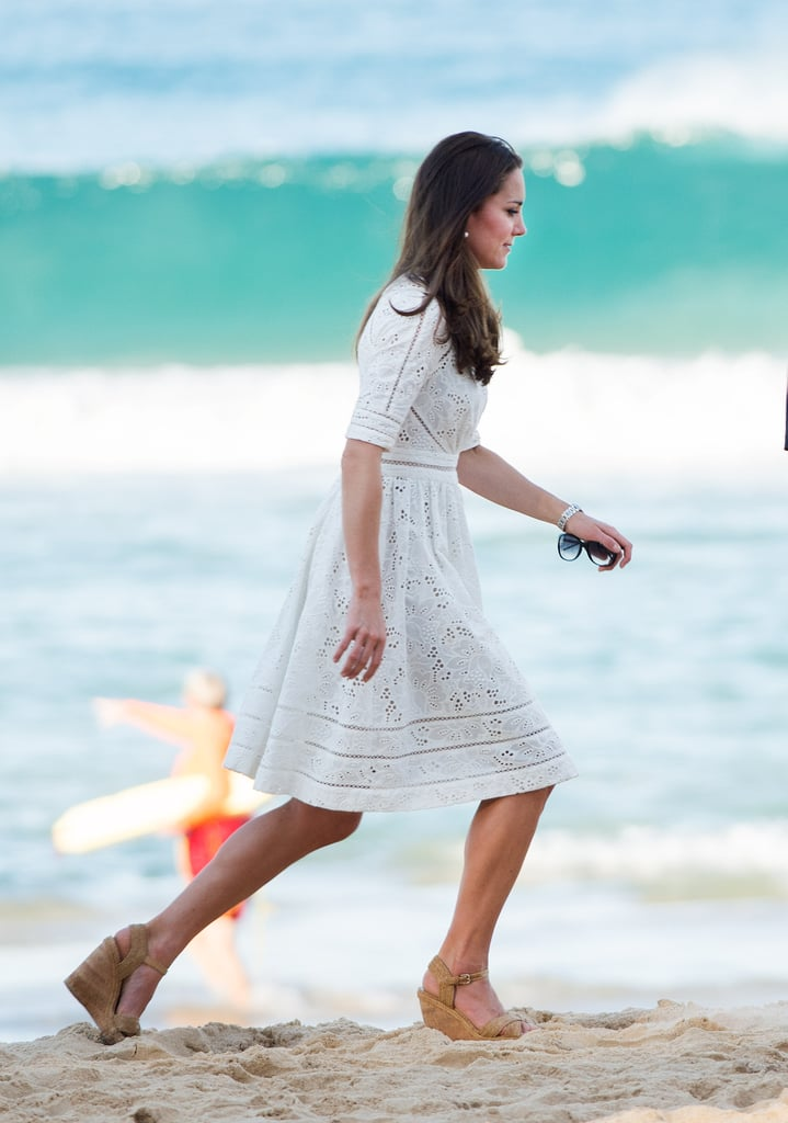 Dress With Cork Wedges