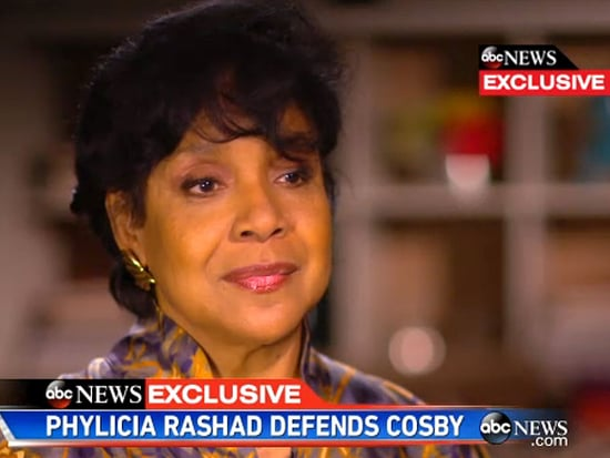 Phylicia Rashad Says Her Defense of Bill Cosby Was  Misquoted